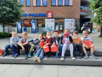 Wizyta dzieci z Oddziału Przedszkolnego w Multikinie z okazji Dnia Dziecka