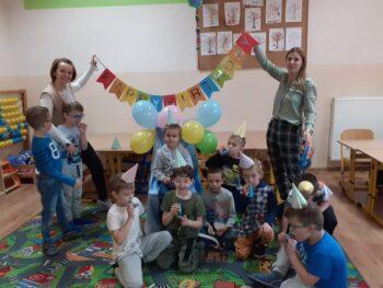 Urodziny Krystiana w Oddziale Przedszkolnym ❤️